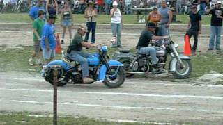 Motorcycle Slow Race, 2010 Harley Rendezvous Classic, Motorcycle Rodeo