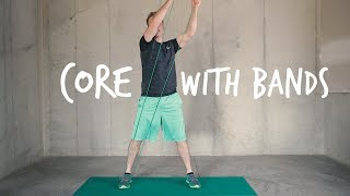 Core Workout with Resistance Bands thumbnail