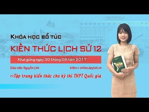 Hội nghị thành lập Đảng Cộng sản Việt Nam - Ôn thi THPT quốc gia môn lịch sử