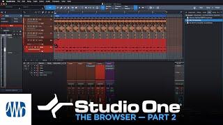 PreSonus Studio One Tutorials Ep. 7: Browser II