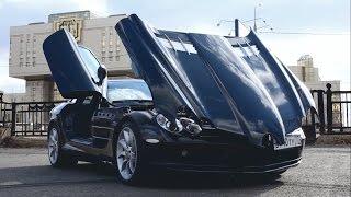 Жарим на 626 сильном суперкаре Mercedes Benz SLR McLaren за 20 млн + что общего с дельфином и яйцом)