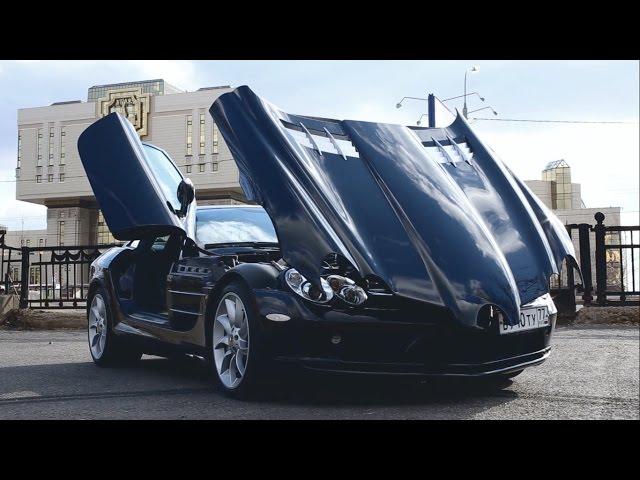 Жарим на 626-сильном суперкаре Mercedes-Benz SLR McLaren за 20 млн + что общего с дельфином и яйцом)