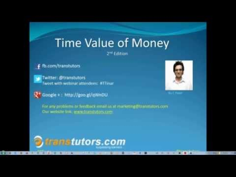 Learn Time Value of Money with Financial Guru - TransTutors