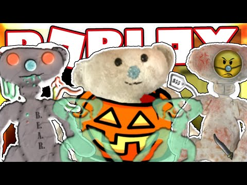 How To Get The Halloween Bear Skins And Badges In Bear Roblox