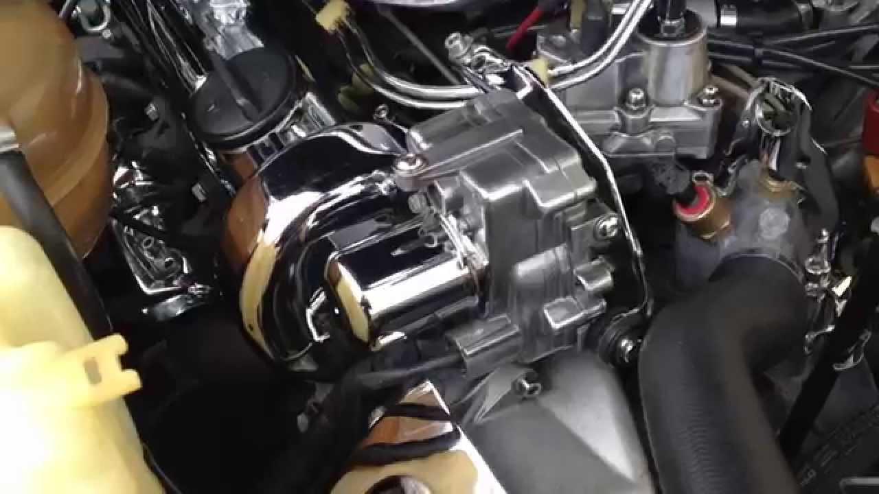 Mercedes sl R107, M116 ,M117 Engine  YouTube