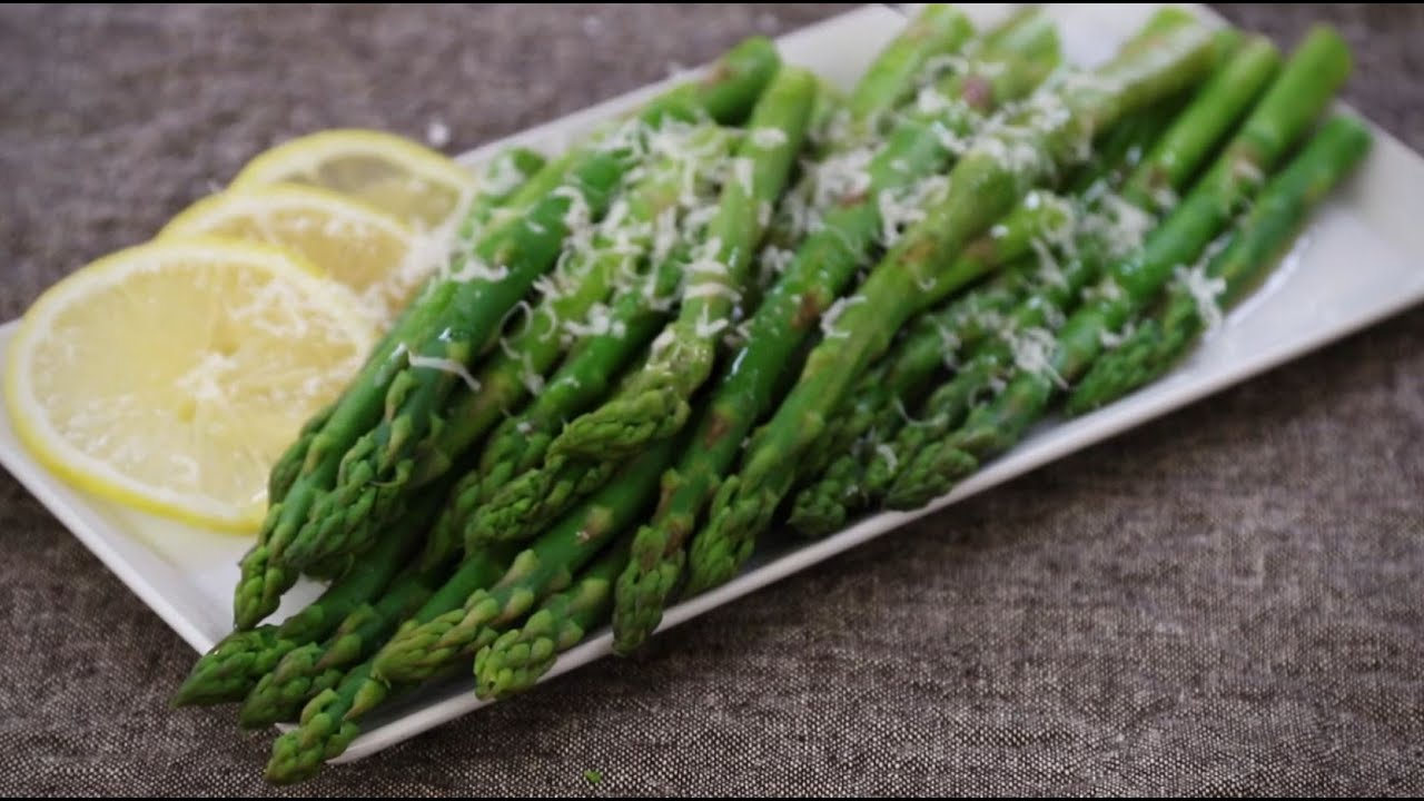 Vegetable Recipes  How To Make Steamed Asparagus