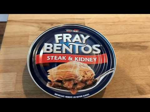 """Frey Bentos Steak and Kidney """"pie"""" in a tin... : badfoodporn"""