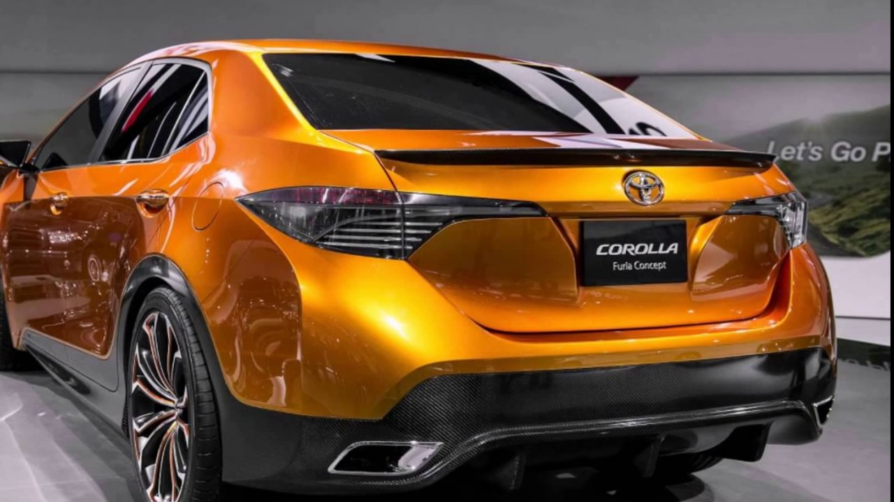 Charming All New 2018 Toyota Corolla XSE SPort Concept
