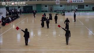 OITA vs TOCHIGI 10th All Japan Interprefecture Ladies KENDO Championship 2018 2nd Round