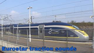 Eurostar e300 VS e320, traction motor sounds