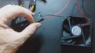 Ligar Cooler sem plug direto na sua Fonte
