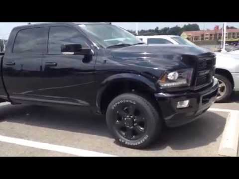 Ram 2500 Crew Cab Black Out Package Review Youtube