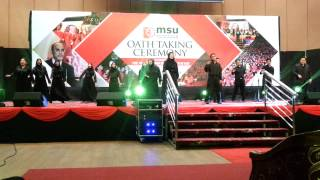 Video MSU DeVoice Performance for Oath Taking Day May 2015 download MP3, 3GP, MP4, WEBM, AVI, FLV Desember 2017