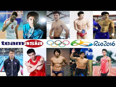 Top 10 Hottest Asian Male Athletes at the 2016 Rio Games