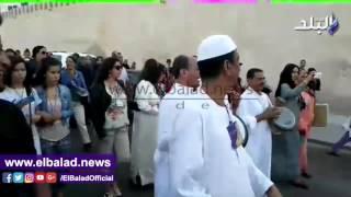 'المولوية' المصرية تجذب الجمهور في مهرجان الحضرة .. فيديو
