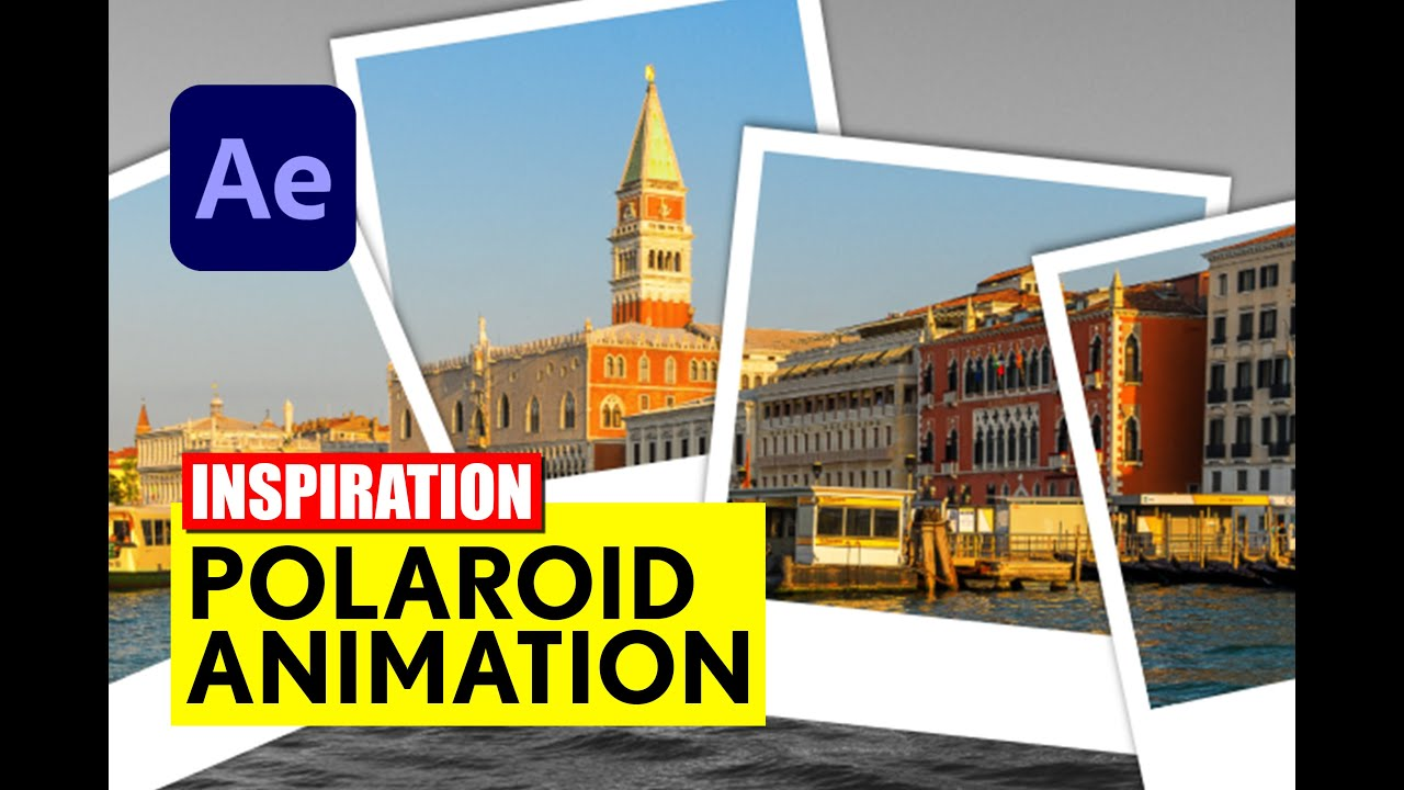 After Effects: Foto Animation - Polaroid - Tutorial - deutsch/german