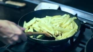 Кулинары - картофель с грибами