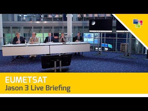 EUMETSAT - Jason 3 Live Briefing