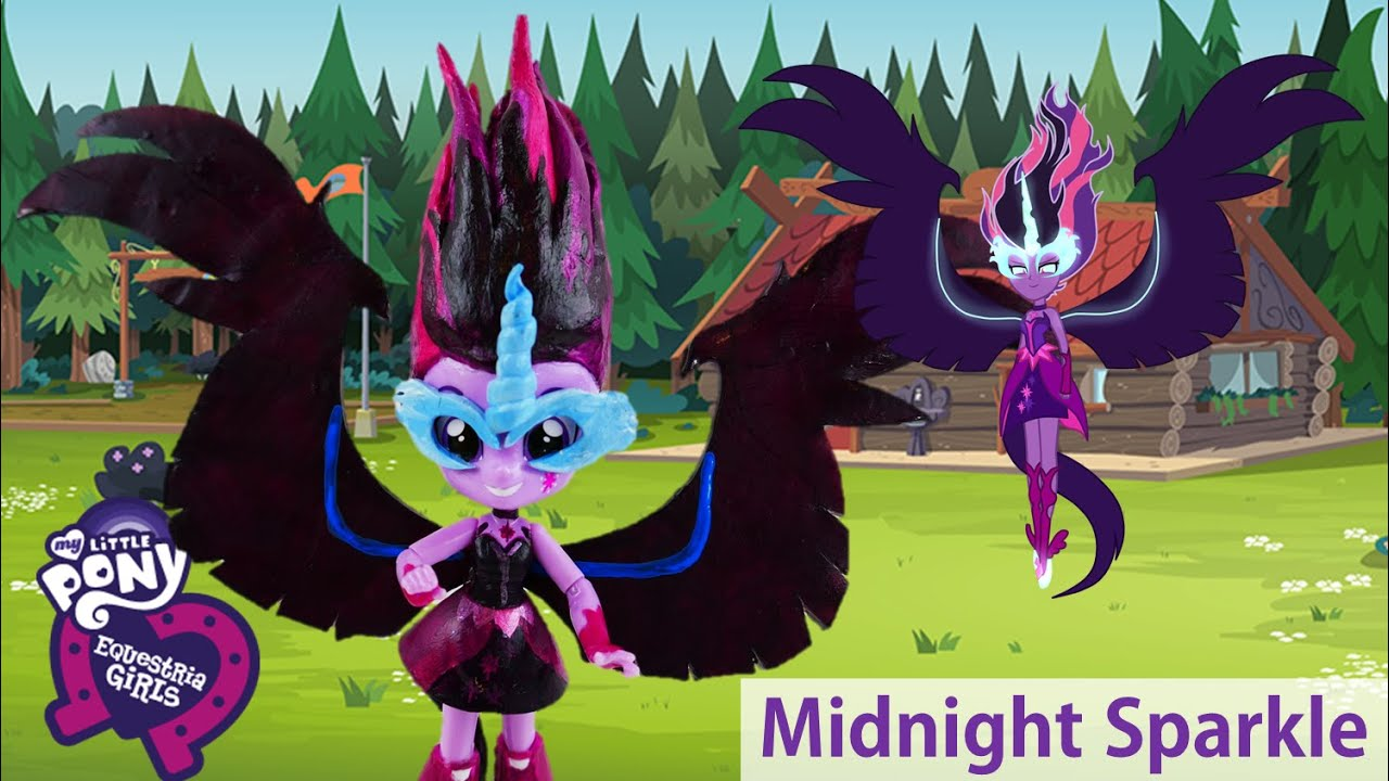 Midnight Sparkle Doll From Legend Of Everfree My Little