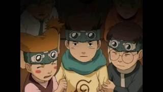 Udon, Konohamaru, and Moegi