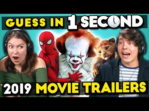 GUESS THAT 2019 MOVIE TRAILER IN 1 SECOND CHALLENGE