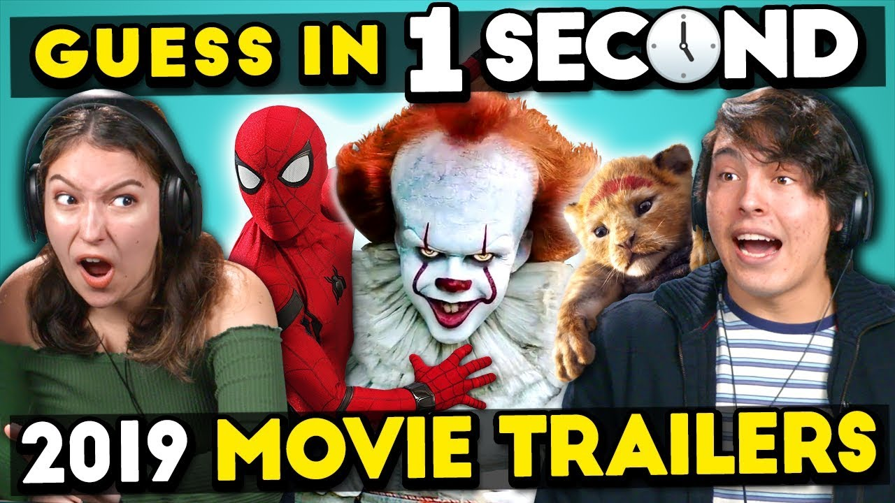 GUESS THAT 2019 MOVIE TRAILER IN 1 SECOND CHALLENGE watch and download videoi make live statistics