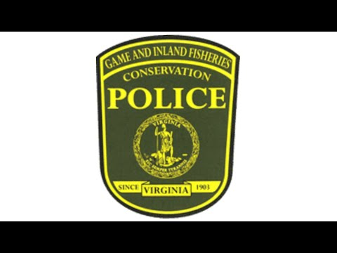 Virginia Department Of Game & Inland Fisheries/conservation Police Tribute