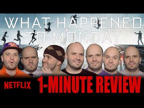 WHAT HAPPENED TO MONDAY - Netflix Original - 1-Minute Movie Review