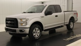 2016 Ford F-150 XL: Standard Equipment & Available Options