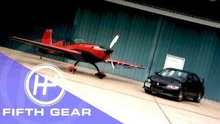 Fifth Gear Mitsubishi Evo Vs Stunt Plane смотреть