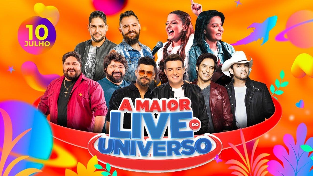 A Maior Live do Universo - Universo Alegria (Oficial)