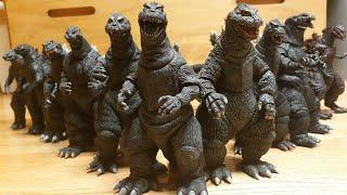 I Review Every NECA Godzilla Figure