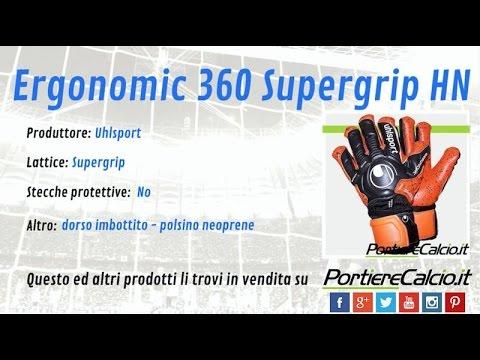 Guanti da portiere Uhlsport Ergonomic 360 Supergrip HN f3d057b26965