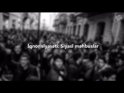 İqnor siyasəti: Siyasi məhbuslar