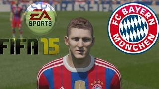 FIFA 15 PS4 Gameplay FC Bayern vs. Dortmund (HD)