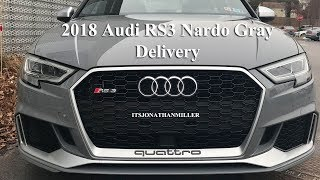 is the 2018 audi rs3 worth $60,000 nardo gray