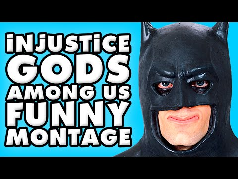 Injustice: Gods Among Us Funny Montage!