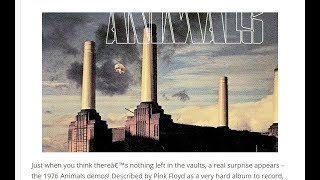 """Pink Floyd - """" Pigs , Three different ones"""" Rare Studio Outtakes  1976  (: ANIMALS :)"""
