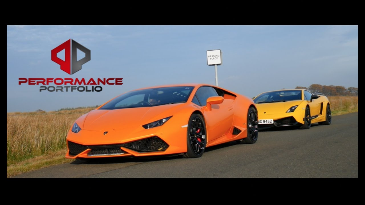 lamborghini huracan vs gallardo superleggera road test youtube. Black Bedroom Furniture Sets. Home Design Ideas