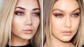 Gigi Hadid Makeup Tutorial    Smokey Eye
