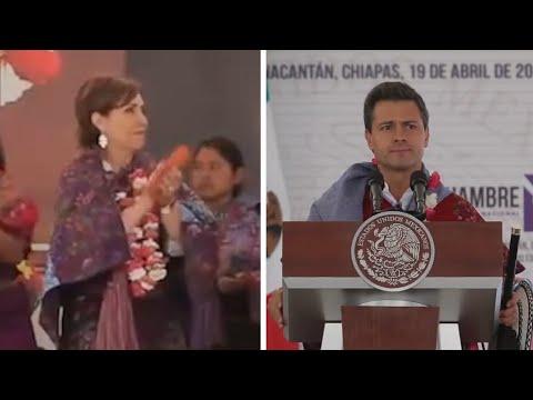 """""""No te preocupes, Rosario""""  Así defendió Pena  Nieto a Rosario Robles en 2013"""