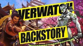 Hanzo vs Genji - Kampf unter Brüdern (OVERWATCH Background Story Lore Deutsch)
