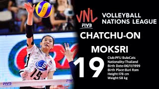 Top 20 Amazing Volleyball by Chatchu-on Moksri | FIVB Volleyball Nations League 2018