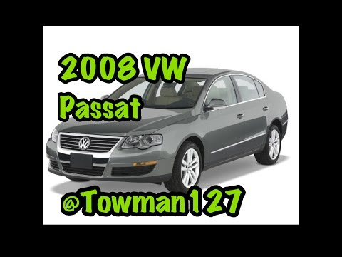 How to unlock a 2008 Volkswagen Passat with a dead battery or key fob