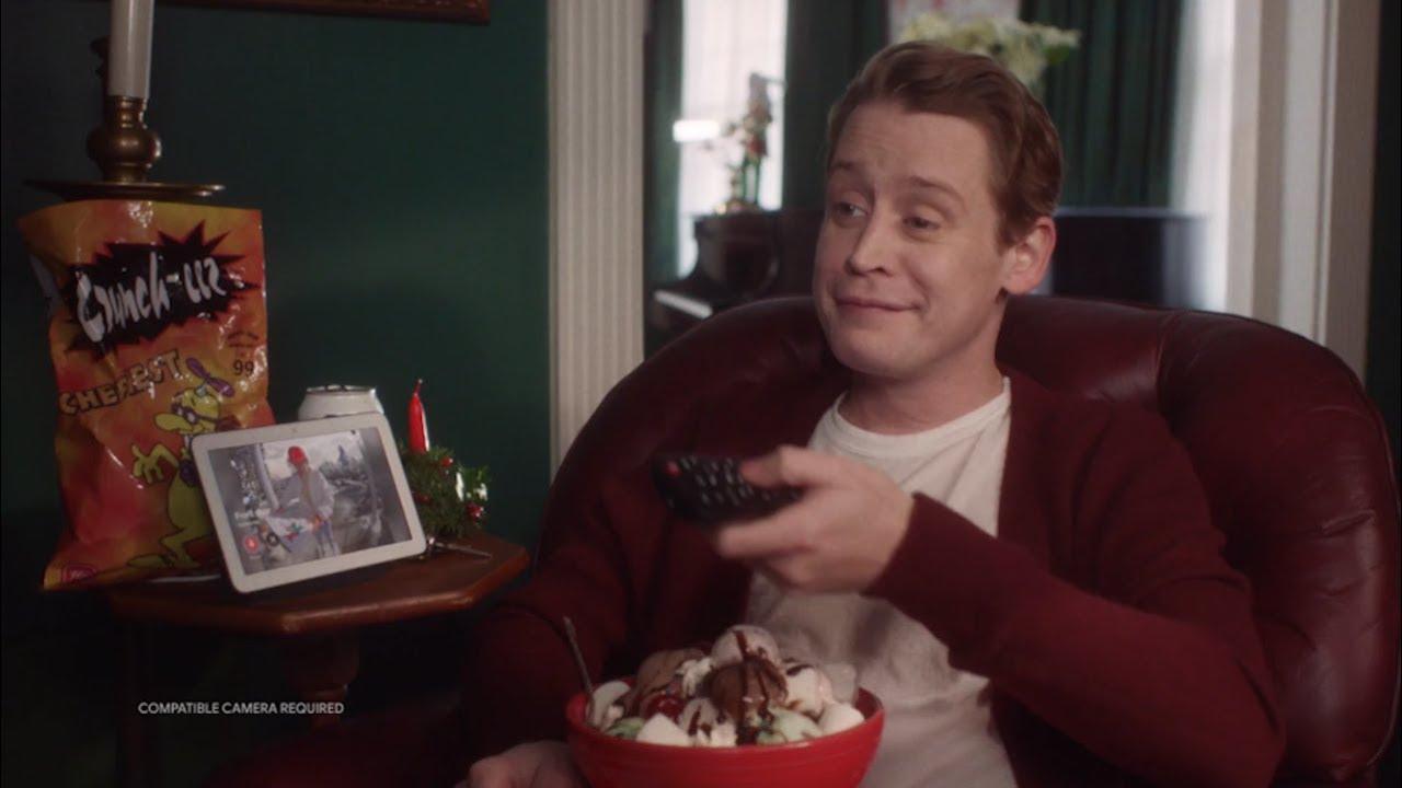 Home Alone: Macaulay Culkin Google Assistant Parody