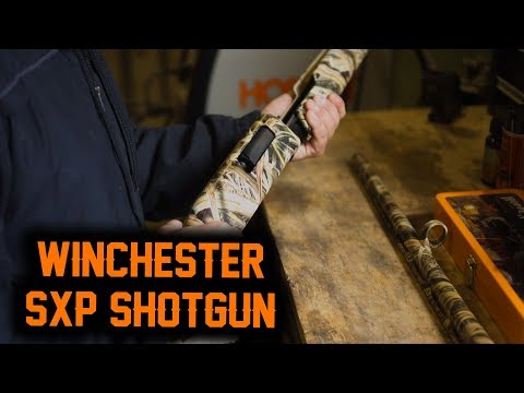 How To DISASSEMBLE & CLEAN Your WINCHESTER SXP 12G SHOTGUN