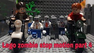 레고 좀비 스톱모션 시즌1 (4화:구출) Lego zombie stopmotion part 4