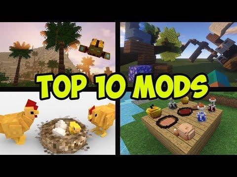 Top 10 Minecraft Mods 1.12.2 - BEST MODS 1.12.2 About REALISM