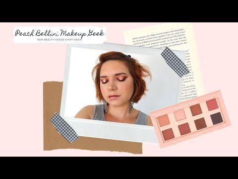 PEACH EYE MAKEUP TUTORIAL using Makeup Geek Peach Bellini thumbnail