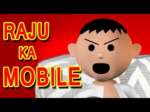 RAJU KA MOBILE - MSG TOONS FUNNY COMEDY ANIMATED VIDEO